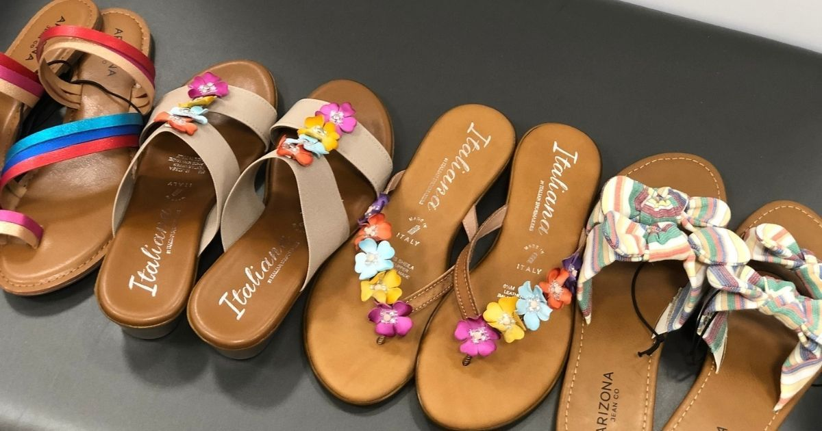 Buy One Pair of Sandals & Get TWO Pairs Free at JCPenney