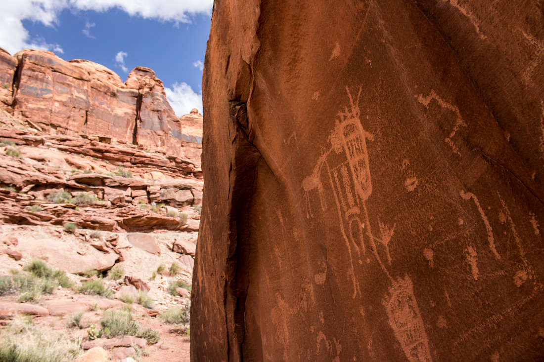 $10k Reward To Find Out Who Lewdly Vandalized Petroglyph Near Moab