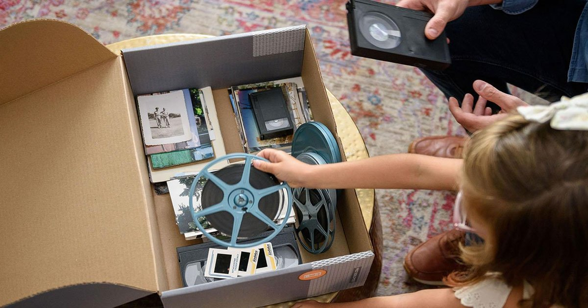 Convert & Digitize Home Movies w/ Legacy Box + Get 55% Off!