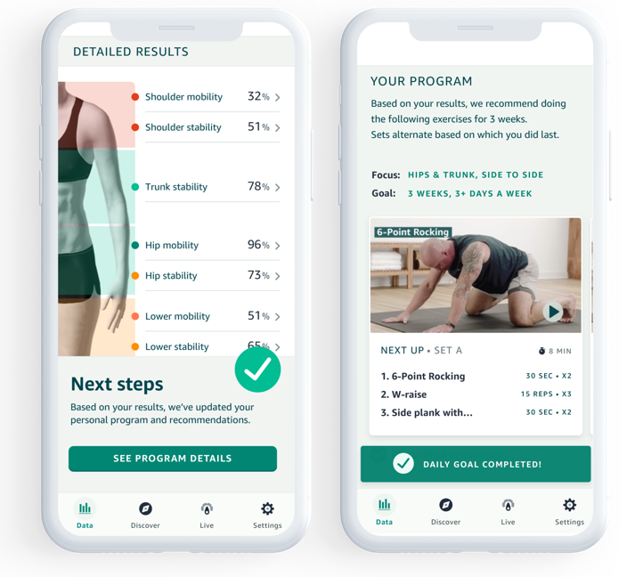New Amazon Halo feature will assess routine body movement, and offer exercises for improvement