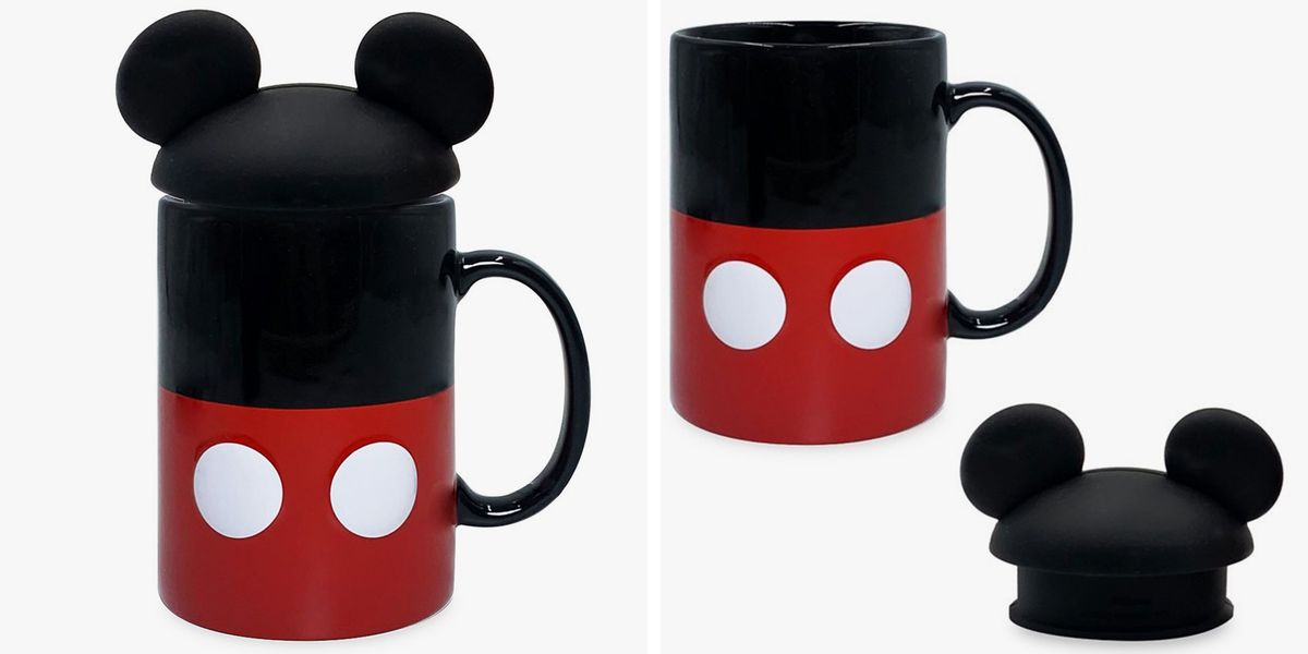 Disney's New Mickey Mouse Mug Comes With A Cute Lid To Keep Your Coffee Warm