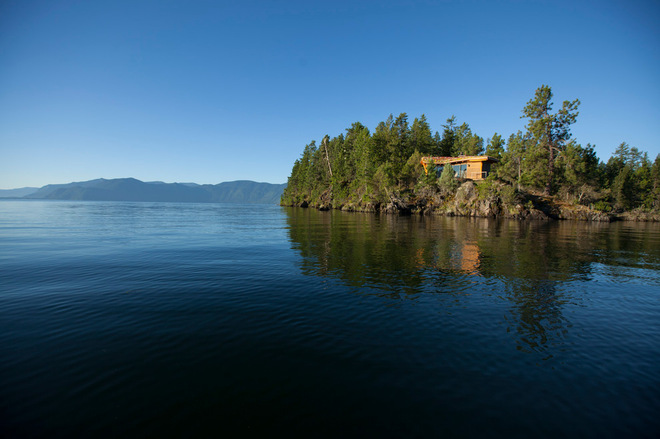 Funky, Camouflage Oasis in Lake Pend Oreille, Idaho