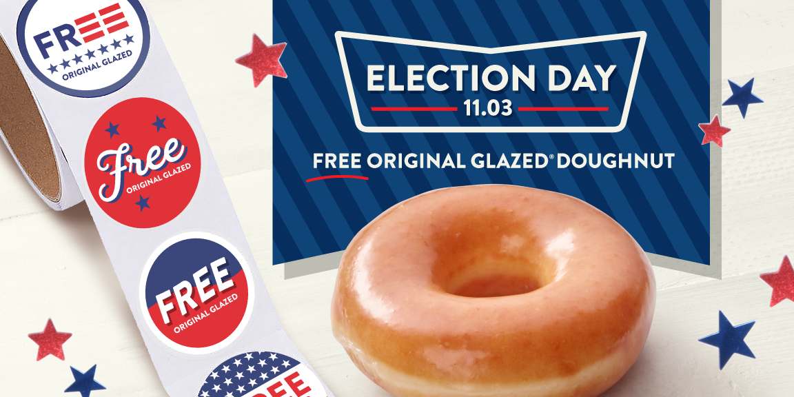 Where To Get Free Food On Election Day