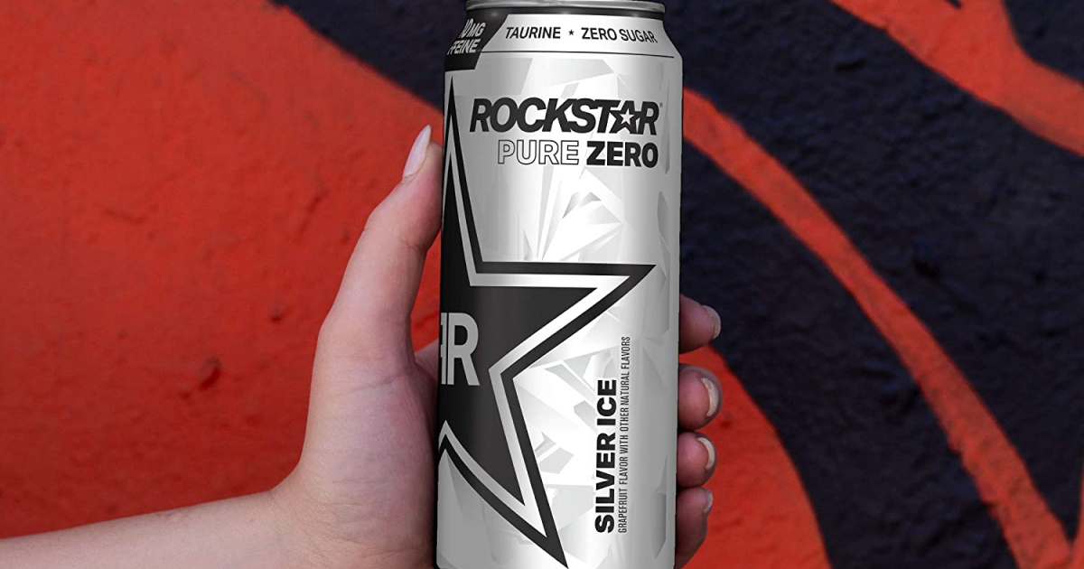 Rockstar Energy Drink 12-Pack Just $10.81 Shipped on Amazon (Only 90¢ Per Can!)