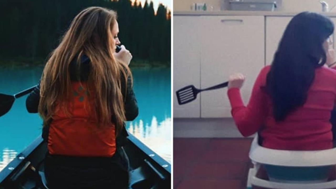 Blogger recreates travel photos in 2020 with hilarious results