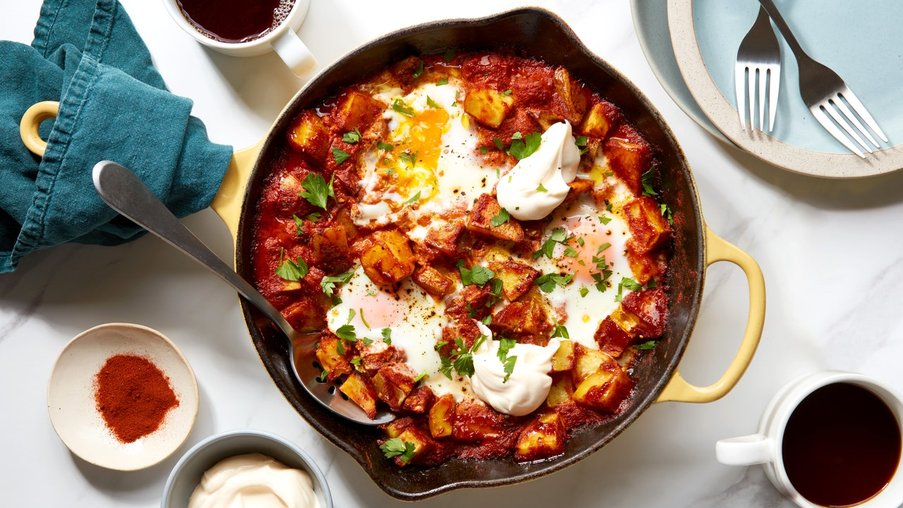 These Smoky Potatoes and Eggs Prove You Can Have It All