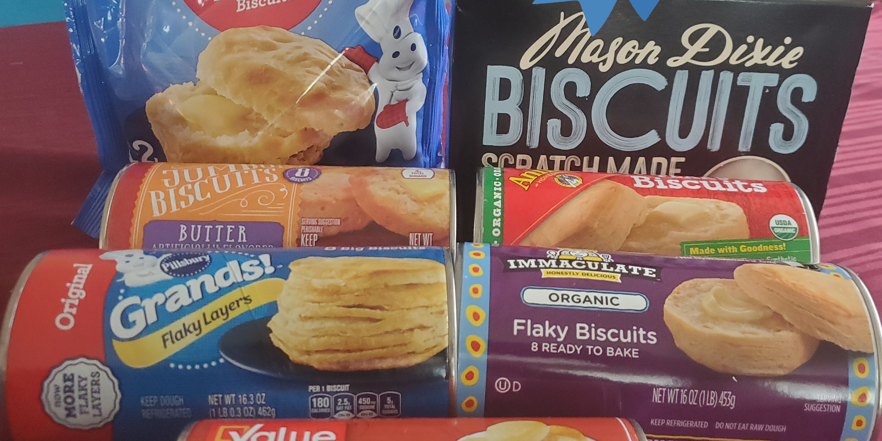 We Tried 8 Canned and Frozen Biscuits and These Were the Best