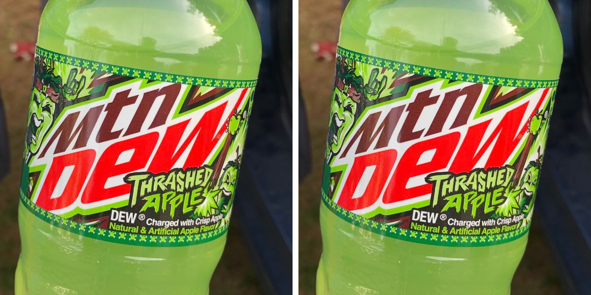 The New Mountain Dew Thrashed Apple Is Expected to Appear on Shelves This Year