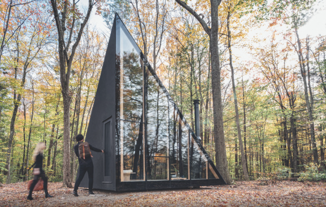 You Can Order This A-Frame-ish Cabin Online and Have it Delivered