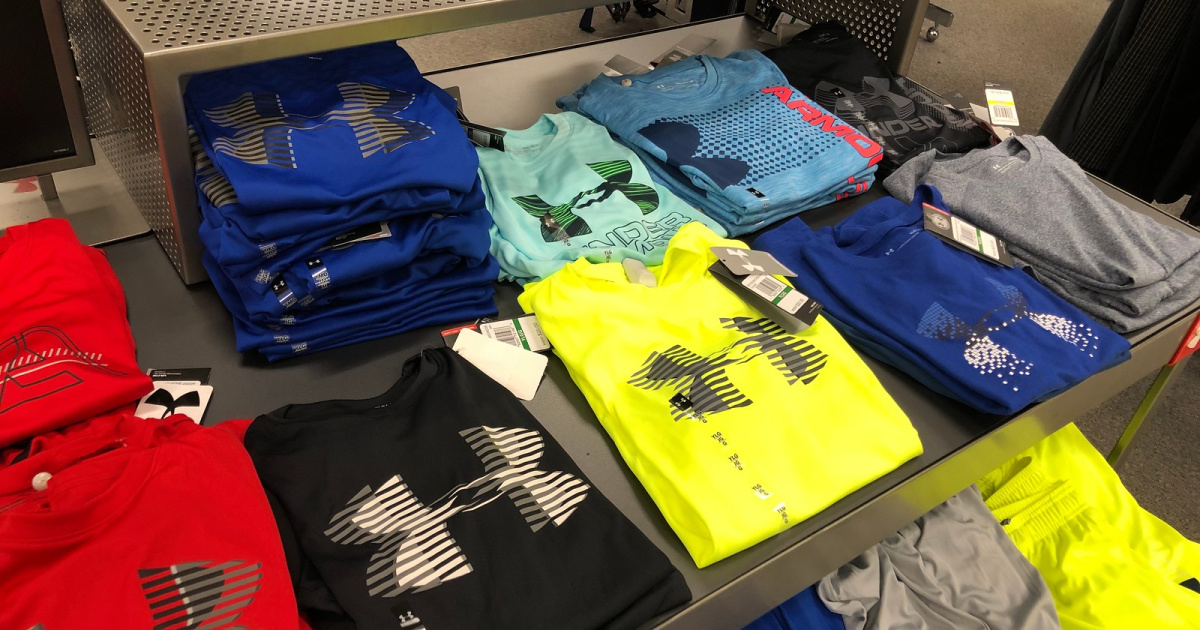 Under Armour Kids Apparel from $7.99 Shipped