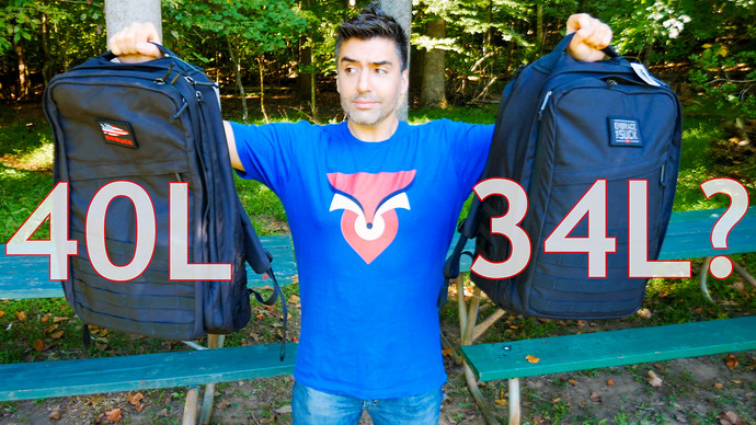 GORUCK GR2 34L vs. 40L: Choosing The Right Size For You