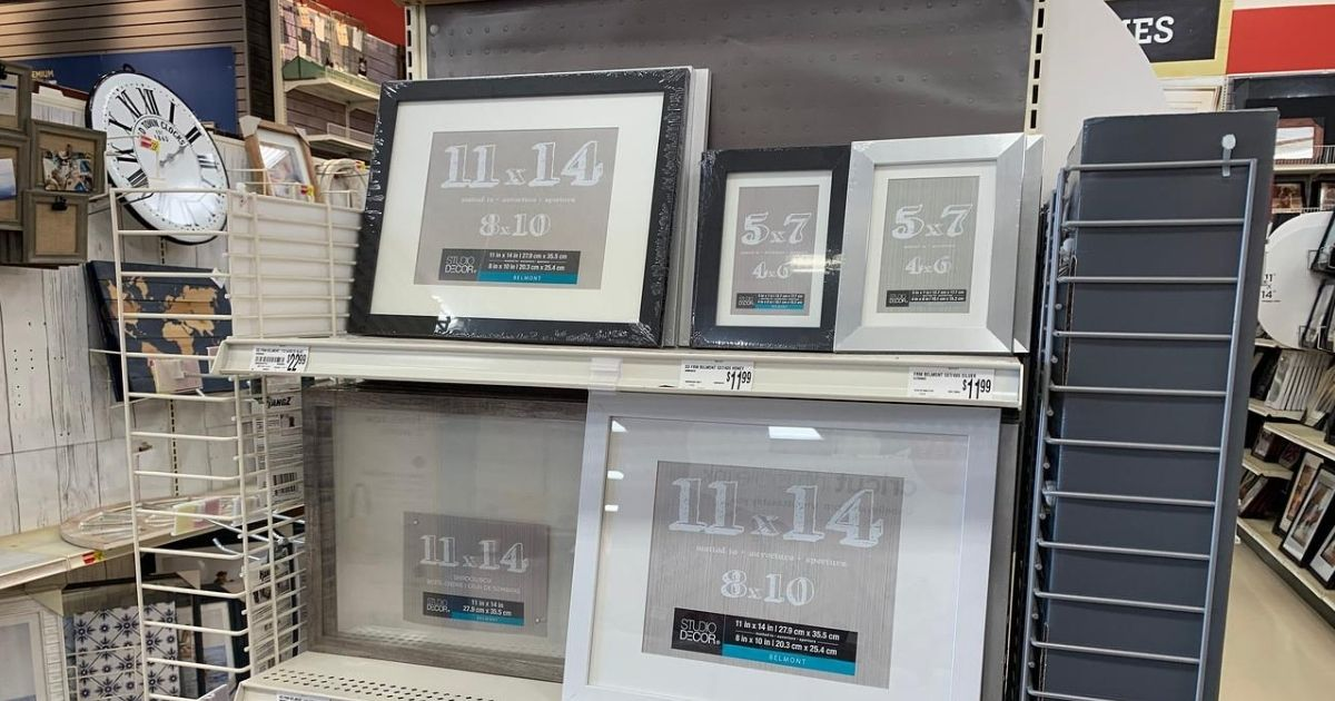 Picture Frames from $2.69 After Michaels Rewards (Regularly $10)