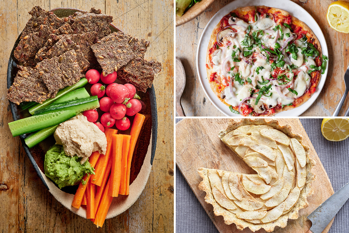 How to eat healthy food every day but still indulge in your favourite treats – and you can even have pizza