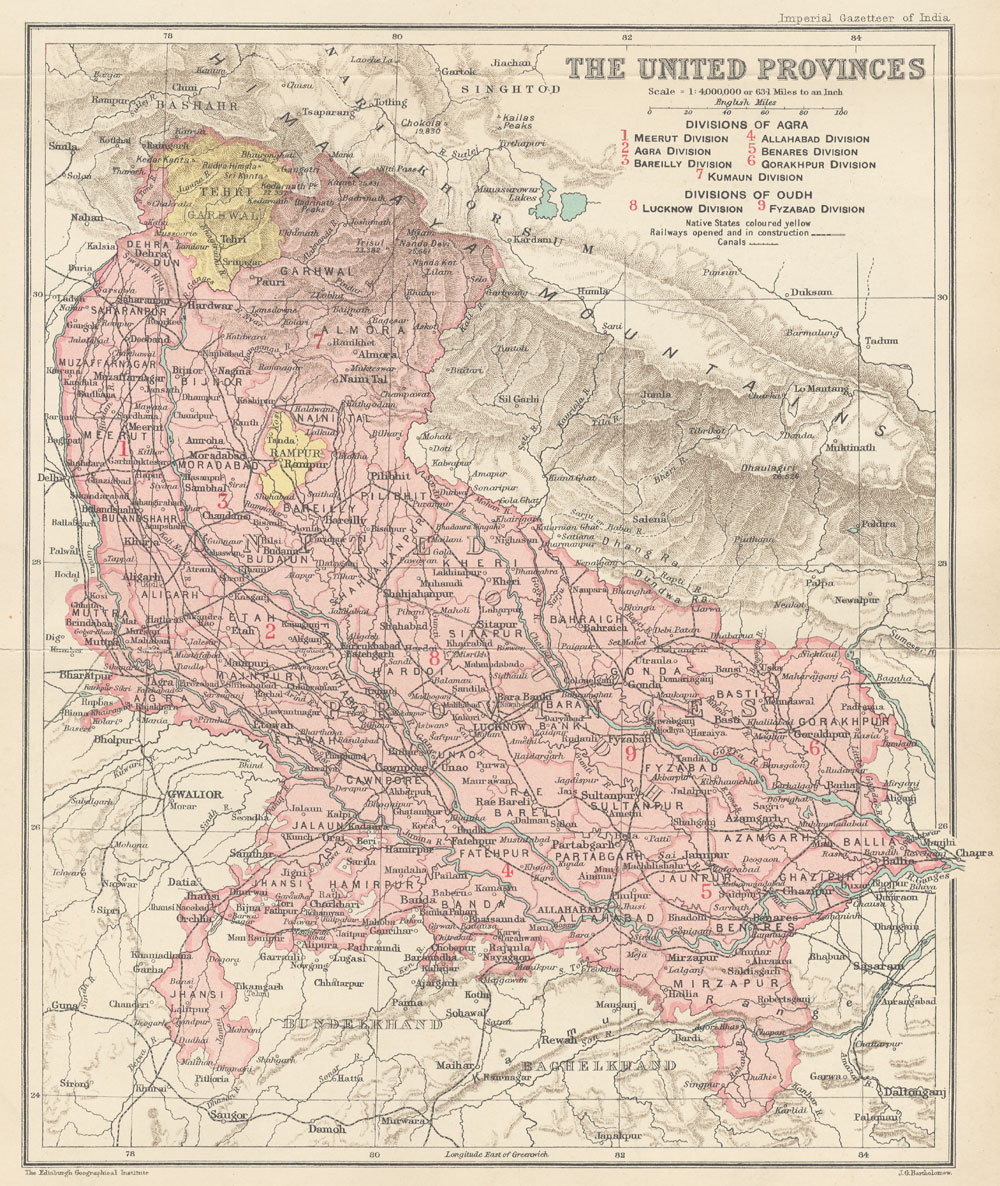 United Provinces of Agra and Oudh