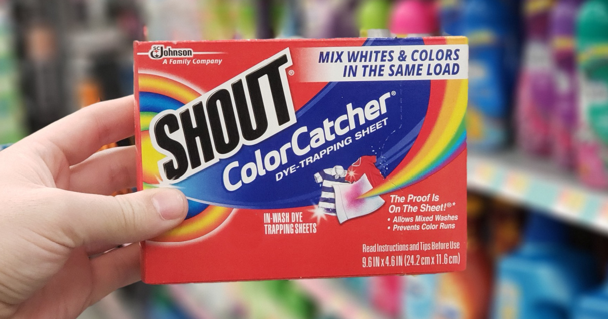 Shout Color Catcher Dye Trapping Sheets 72-Count Only $7.54 Shipped on Amazon