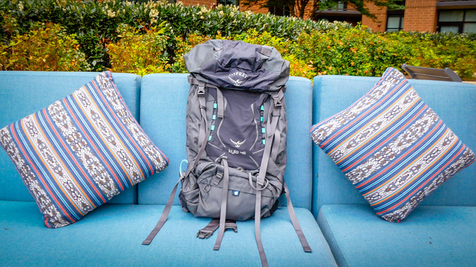 The Osprey Kyte 46 Is Just Big Enough For A Week Hike And That's A Good Thing