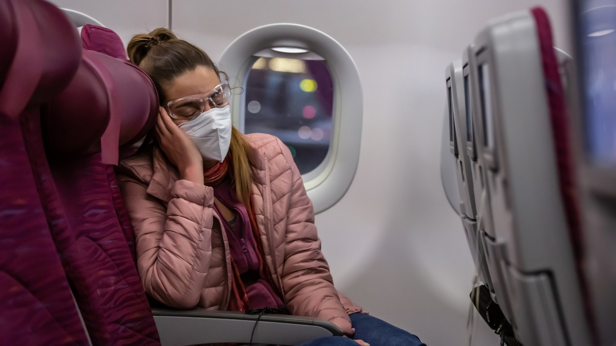 How to Fall Asleep on a Plane RN, Because Times Are Weird