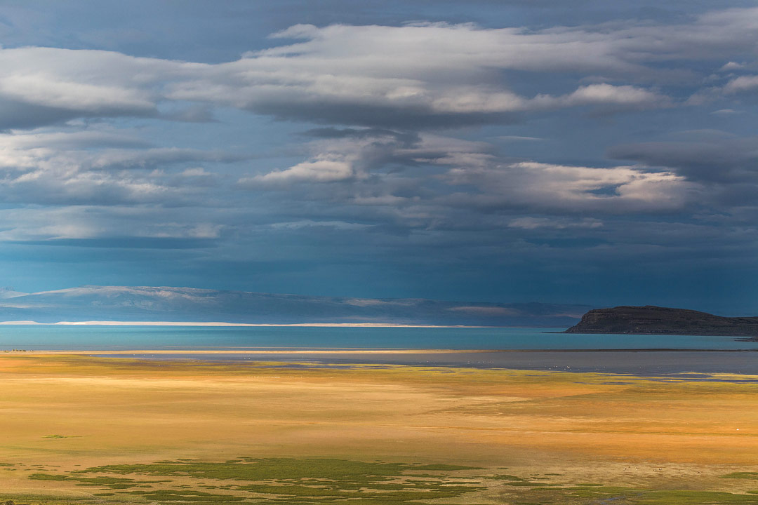 Lago Argentino, El Calafate, Argentina by Chester Wallace
