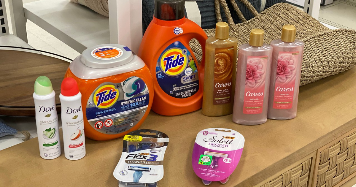 Over $80 of Household, Easter, & Personal Care Items Just $34 After Cash Back at Target