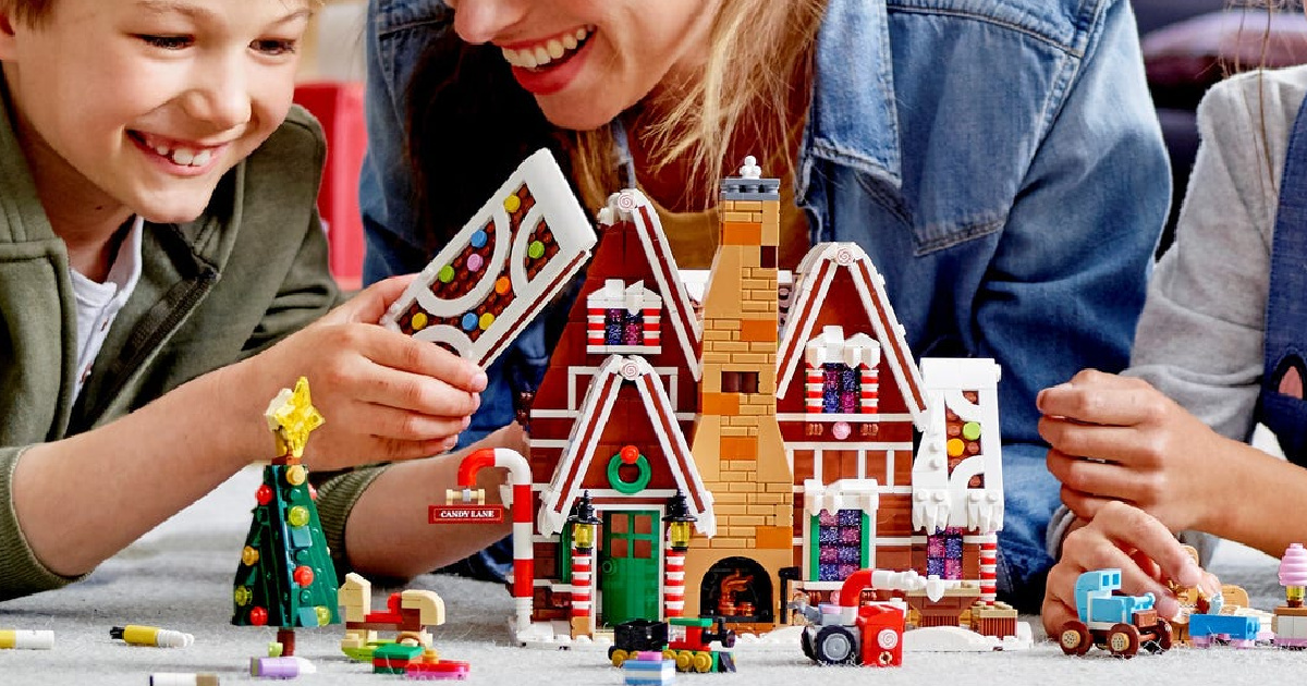 Limited Edition LEGO Gingerbread House Only $99.99 Shipped + FREE Mini Adidas Superstar Set