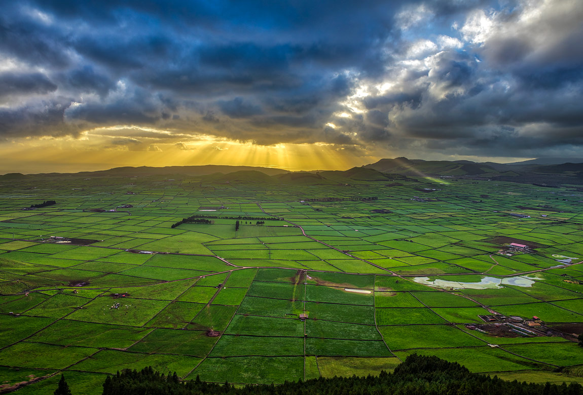 Faial Sunset, Azores, Portugal