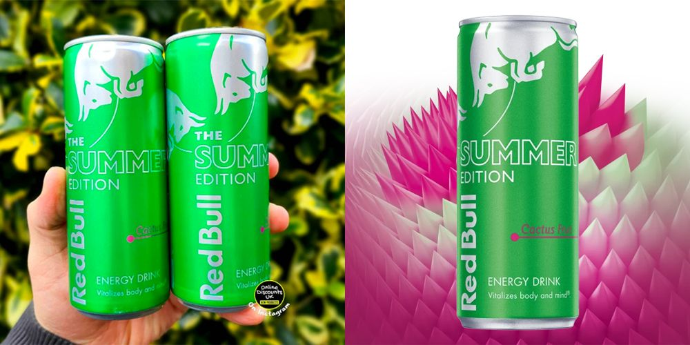 Red Bull Launches A Cactus Fruit Flavour For Summer, And It Sounds Exotic!