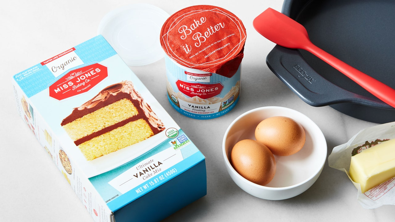 Miss Jones Baking Co. Review: This Boxed Cake Mix Is Perfect for Baking With Kids
