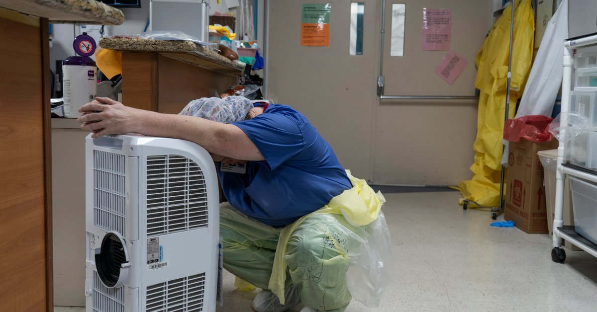 Doctors and Nurses Are Getting COVID-19 Burnout
