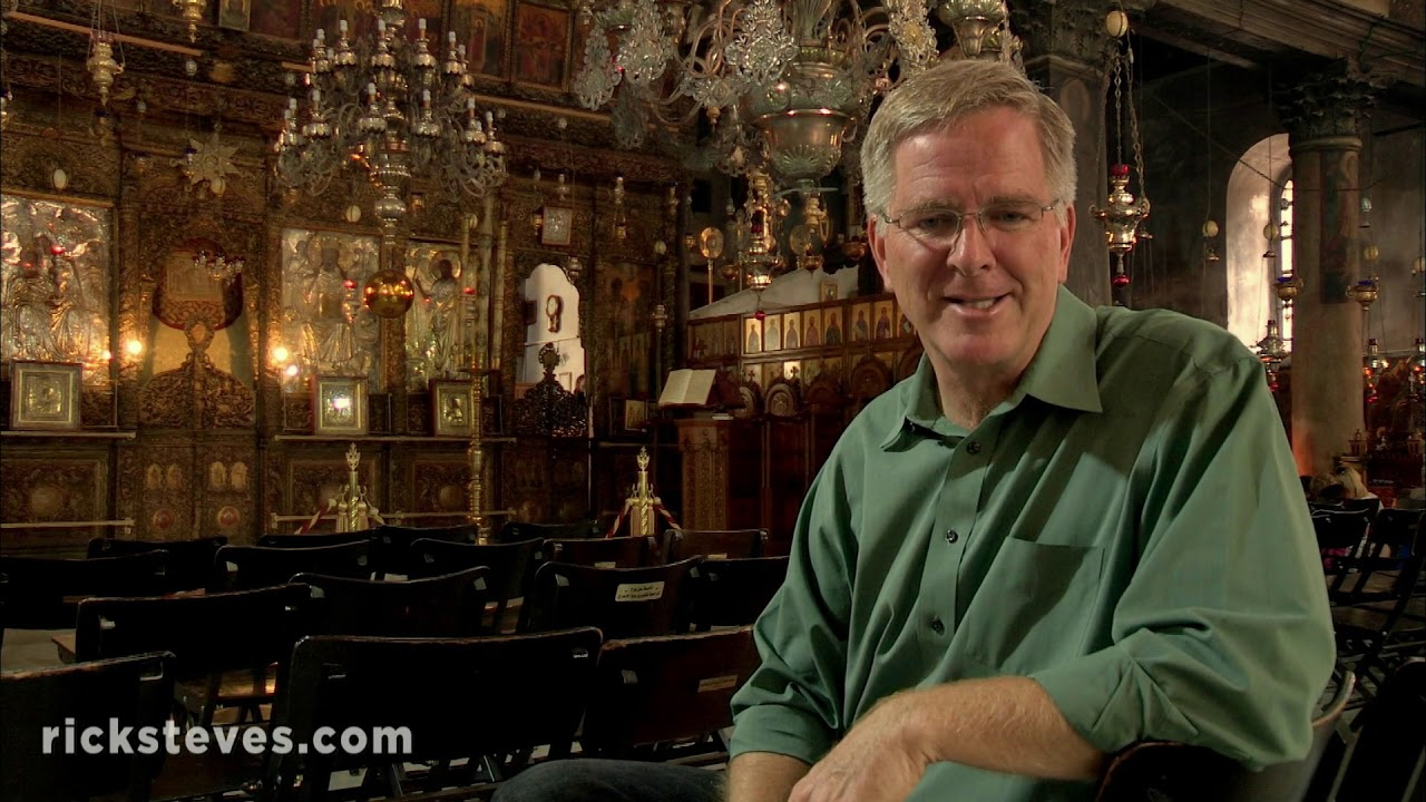 Bethlehem: Place of Jesus' Birth and Dinner with Friends