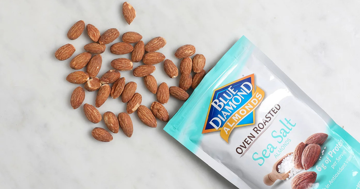 Blue Diamond Almonds 1-Pound Bags from $5.71 Shipped on Amazon