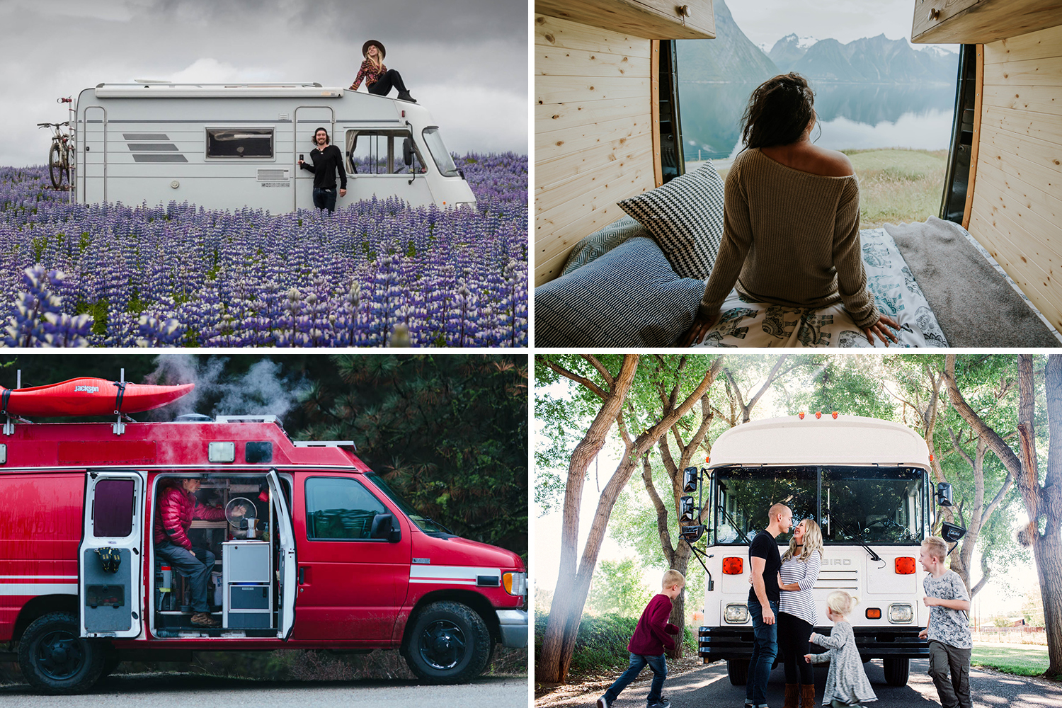 14 Inspiring Campervan Experts and Their Advice for You