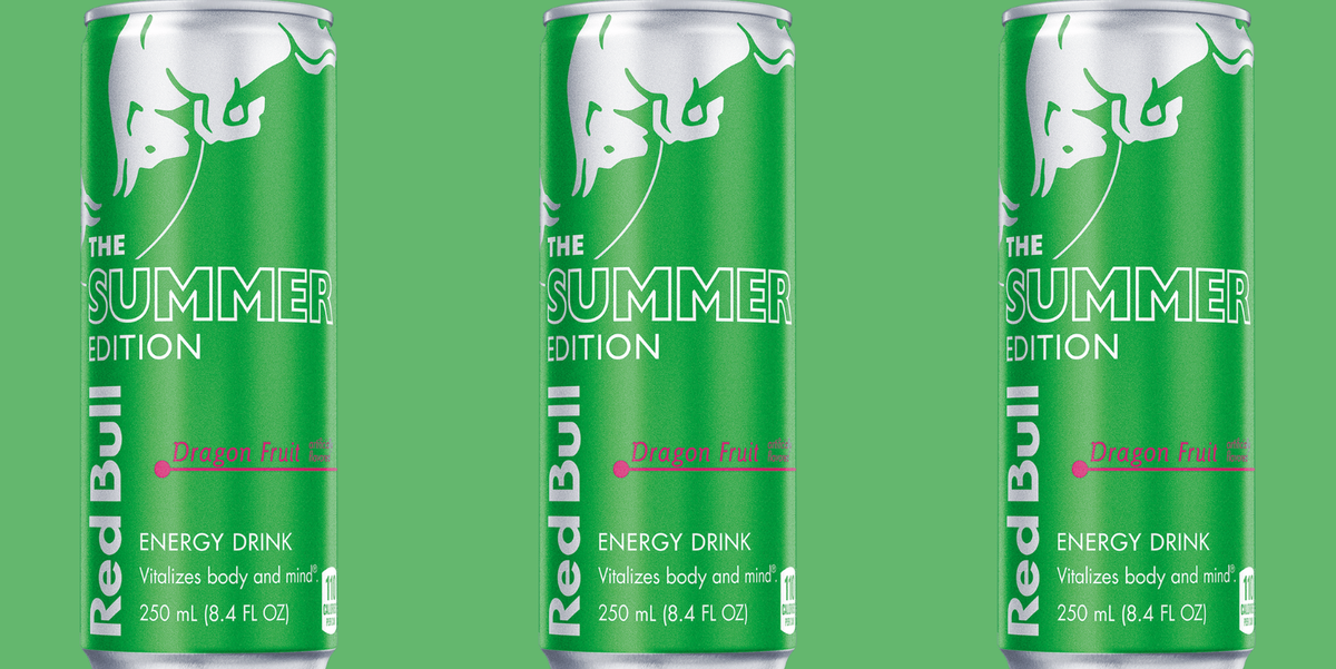 Red Bull's New Dragon Fruit Flavor Is Here