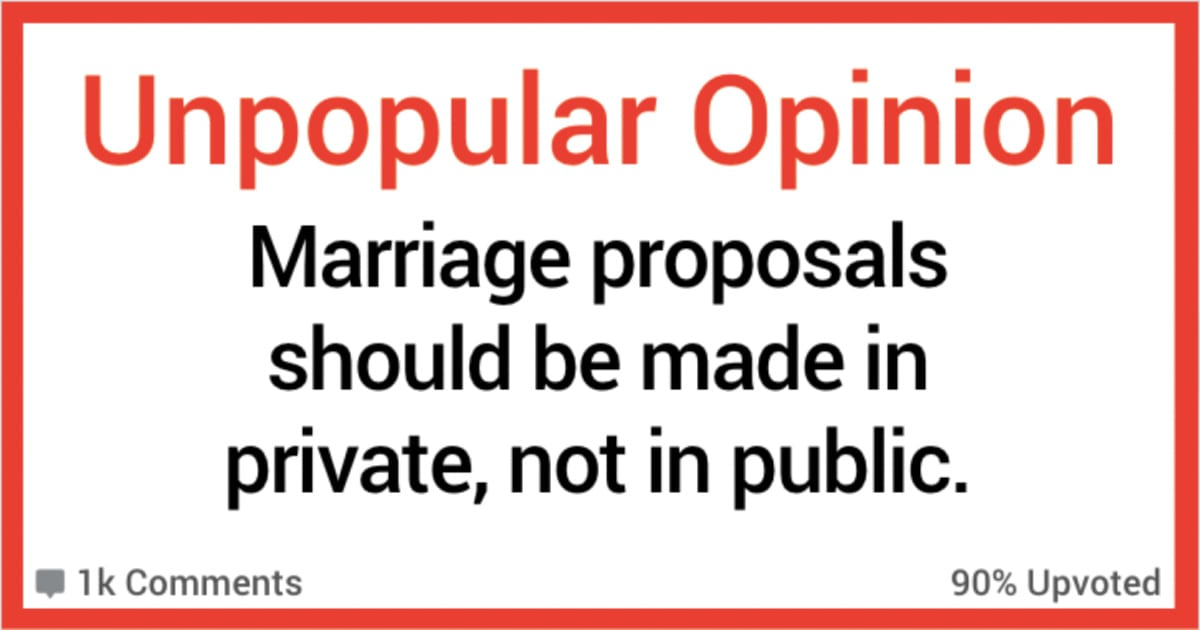 Should You Propose in Public or Private? These 14 People Say It Probably Depends.