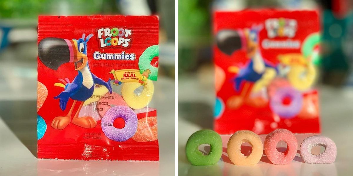 The New Froot Loops Gummies Taste Wildly Similar to the Actual Cereal