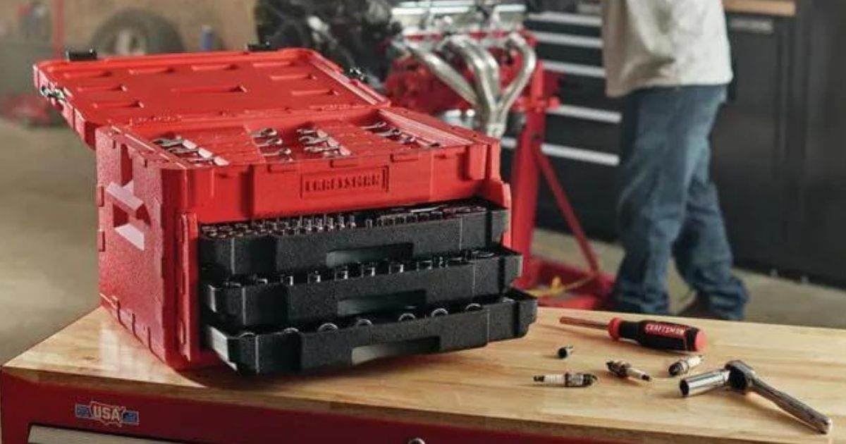 Craftsman 232-Piece Tool Set w/ Case Only $99 Shipped on Lowes.com (Regularly $199)