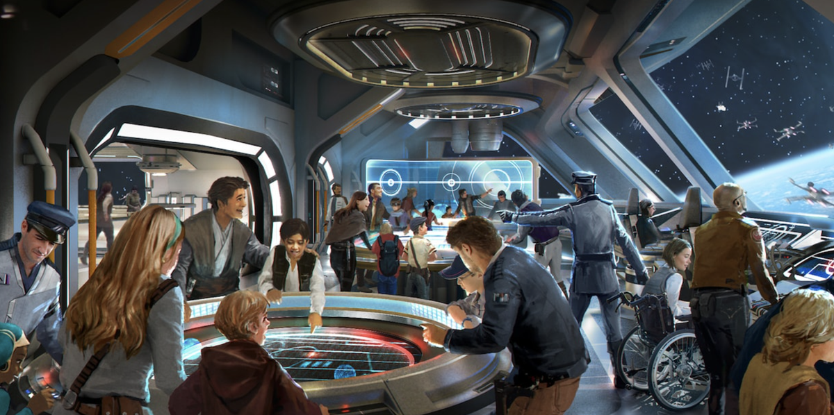 Disney's 'Star Wars' Galactic Starcruiser Will Have A Dinner Show