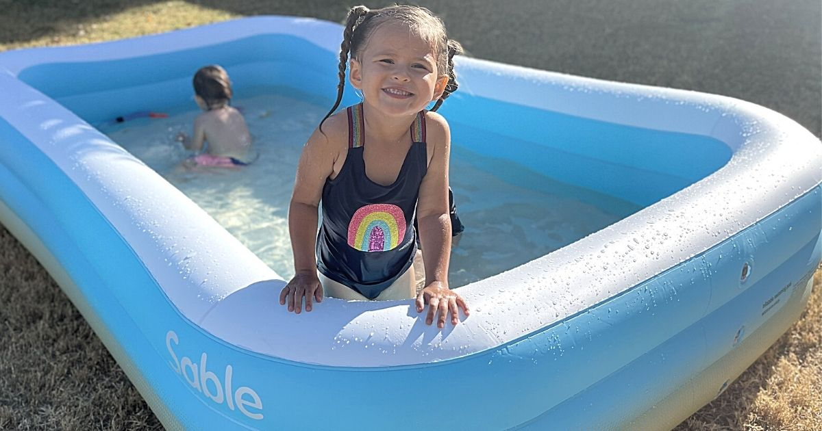 Family-Sized Inflatable Pool Only $42.99 Shipped on Amazon