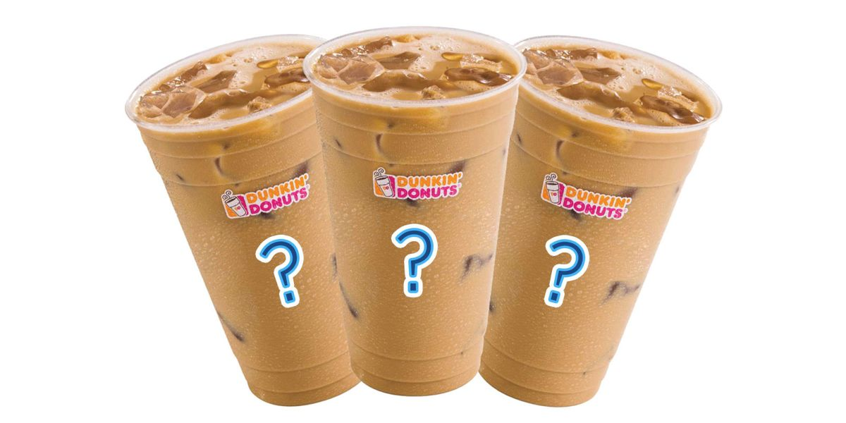All of Dunkin' Donuts' Iced Coffee Flavors, Ranked