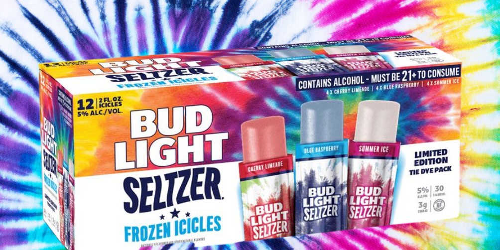 Your Summer Party Needs These New Bud Light Spiked Seltzer Icicles