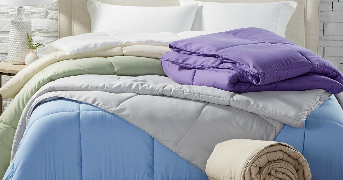 Down Alternative Comforter in ANY Size Only $19.99 Shipped on Macys.com (Regularly $110+)