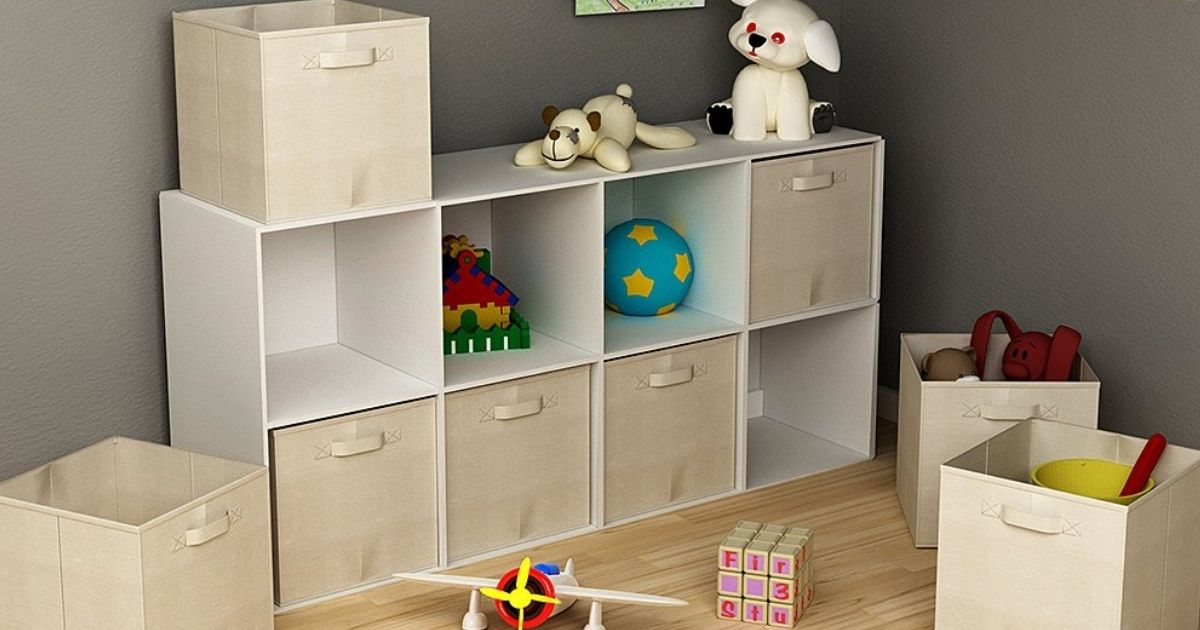 Home Organization Bins, Racks, & More from $10.99