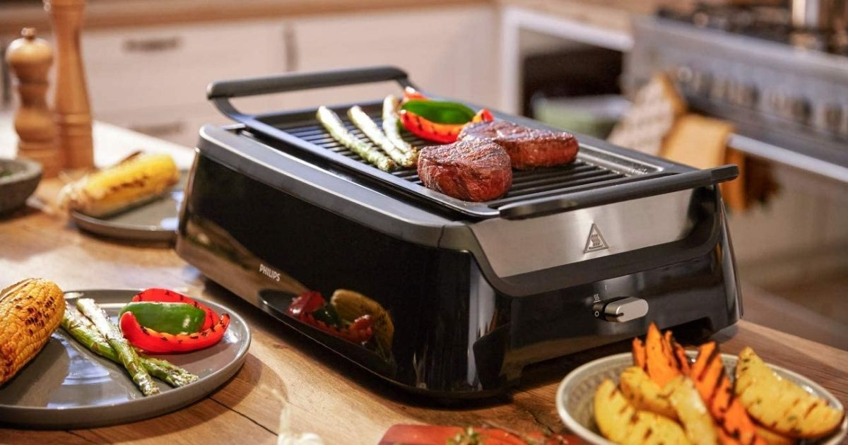 Certified Refurbished Philips Indoor Smokeless Grill Only $89.99 Shipped (Regularly $350)