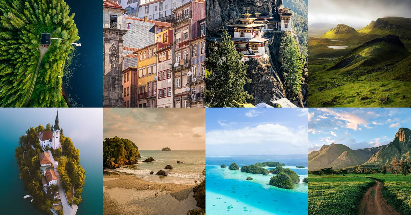 10 sustainable destinations we'd love to visit in 2021