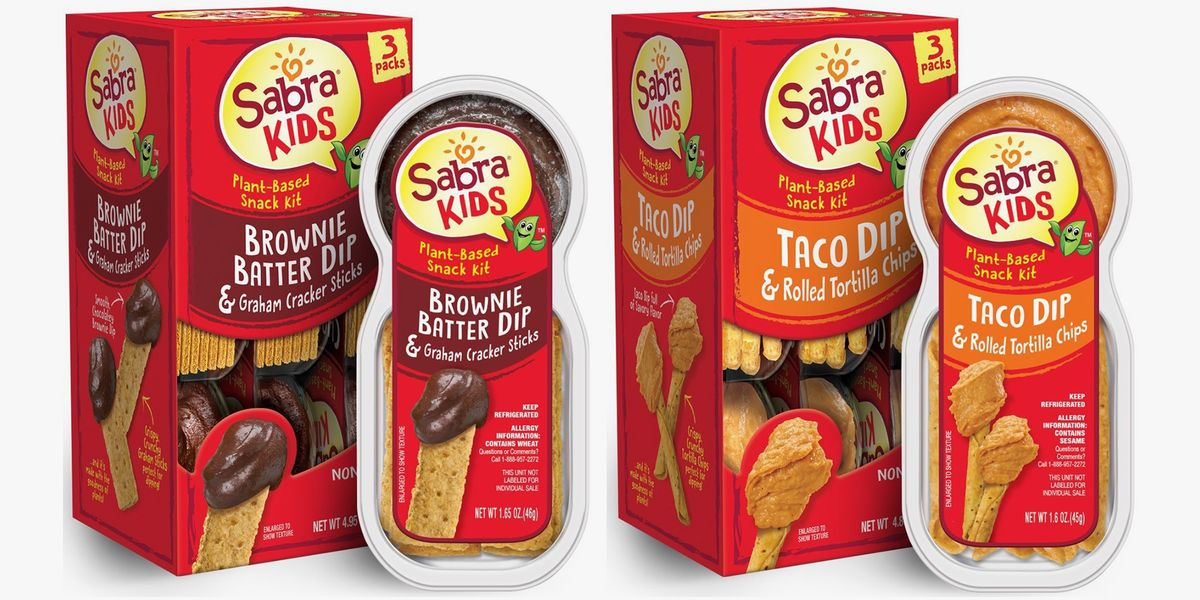Sabra Has New Chickpea-Based Brownie Batter and Taco Dips for Unbelievable Snack Packs