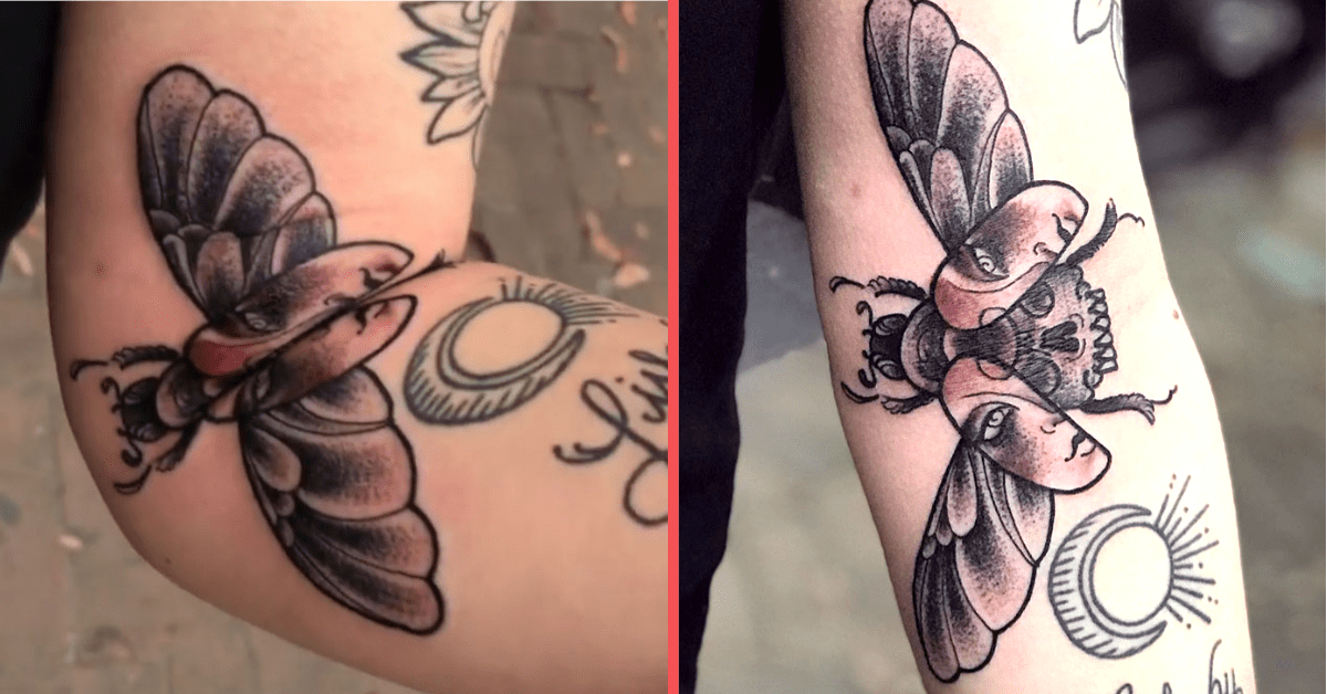 """You Gotta Check Out the """"Moving Tattoos"""" These People Have on Their Bodies"""