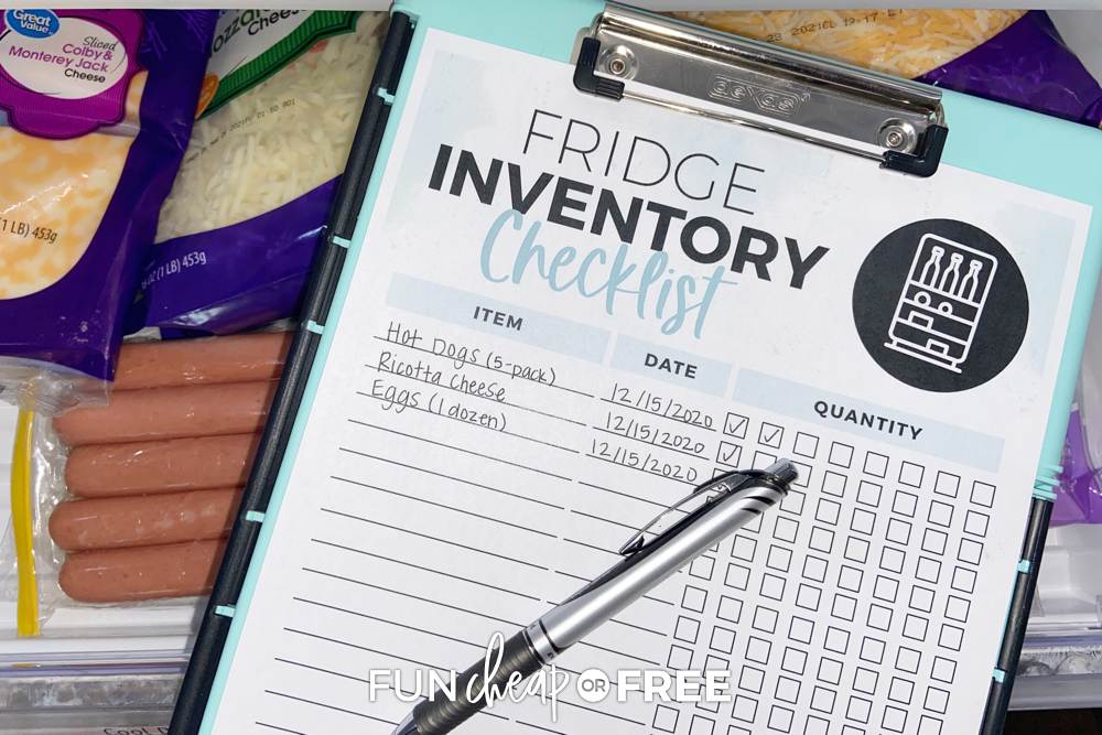 """What's in My Fridge?"" How to Inventory Your Kitchen!"